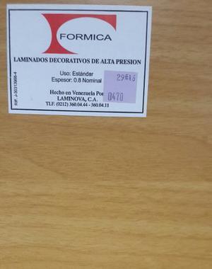 Formica Color Fresno Marca Formica 0,60 Mts X 1,22 Mts