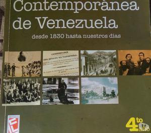 LIBRO HISTORIA CONTEMPORANEA DE VENEZUELA RAFAEL ARRAIZ