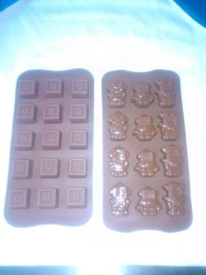 Molde De Silicon Para Chocolate
