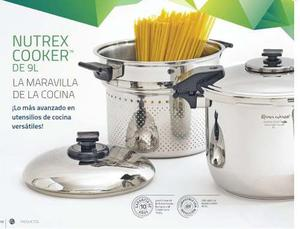 Olla De Presión Nutrex Cooker De Rena Ware