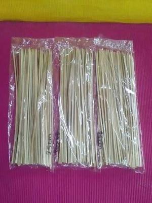 Palillos De Altura Pinchos Reposteria 25 Centimetros 50 Unid