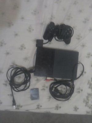 Ps2 Modelo  Control Original Memory Card Y Cables