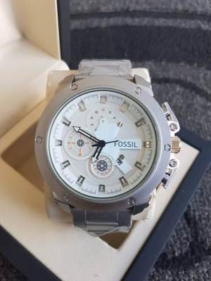 Reloj Acero Para Caballero Brazalete Nuevo