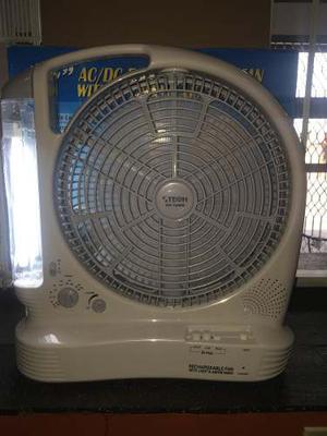 Ventilador Portátil Recargable 110v