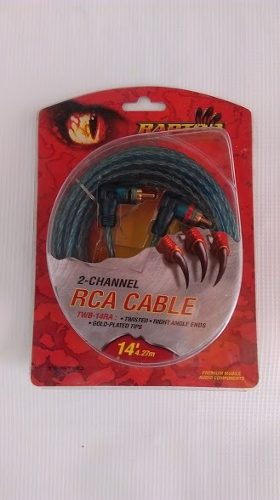Cable Rca 14 Pies 4.26 Metros Marca Raptor