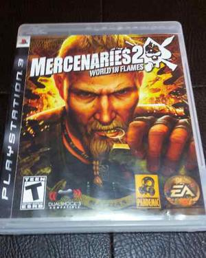 Juego Fisico Mercenaries 2 Para Ps3 Garantia