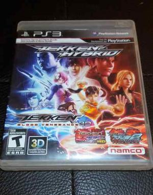 Juego Fisico Tekken Hybrid Tag Para Ps3 Garantia