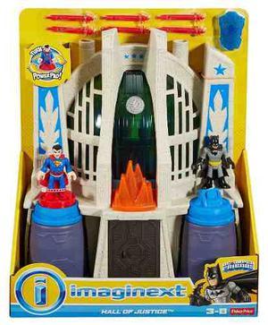 Juguetes Imaginext Dc Batman Superman Salon De La Justicia