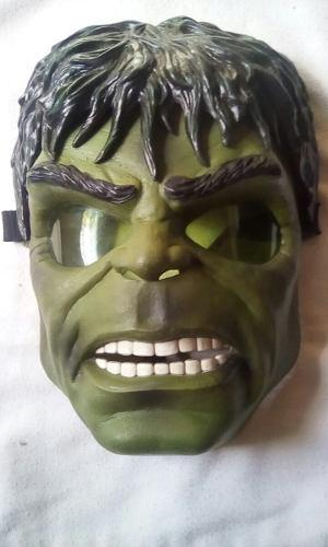 Mascaras De Hulk,batman,monster, Thor Usadas En Buen Estado