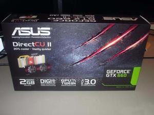 Tarjeta De Video Asus Geforce 660 Gtx, 2gb Ddr5