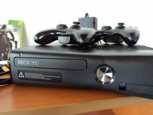 Xbox 360 Slim Rgh Con Juegos Digitales, Ocambio Por Pc Buena