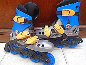 Patines Hot Wheels Para Niños Talla 32