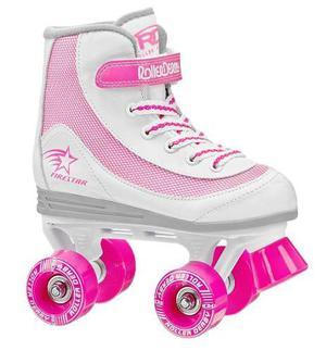 Patines Roller Derby Tipo Soy Luna Mas Kit Gratis!!!!!