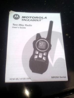 Radios Motorola De Comunicaciones Juego De Tres Radios.