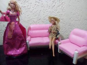 Barbie Juego De Sala Set