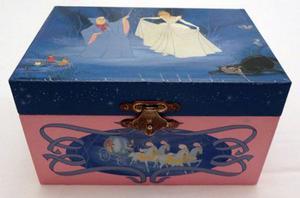 Joyero - Caja Musical De La Cenicienta Original De Disney