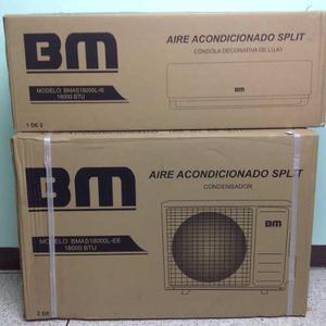 Aire Acondicionado Split Bm  Btu Nuevo De Caja.