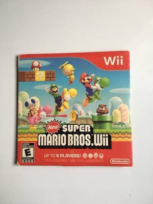 Juego Super Mario Bros Para Wii