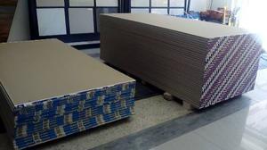 Láminas De Drywall Para Pared 1,22x2,44mt (1/2 4´ X 8´)