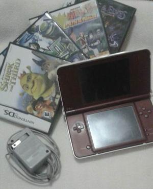Nintendo Dsi Xl Con 4 Juegos Originales Posot Class