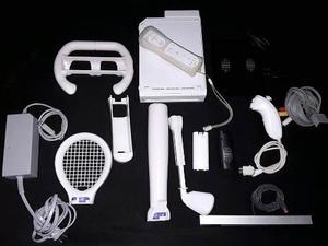 Nintendo Wii Chipeado + Accesorios (sin Juegos)