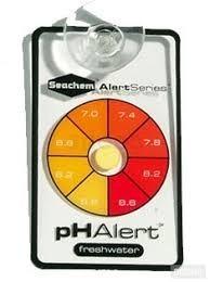 Seachem Ph Alert, Medidor De Ph Para Acuarios De Agua Dulce