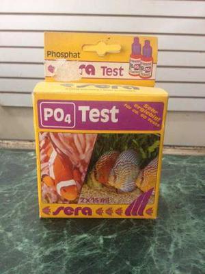 Test De Fosfatos Marca Sera Po 4 Para Acuarios O Pesceras