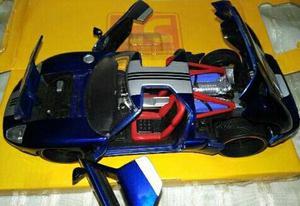 Ford Gt  Escala 1/24 Colección Jada Cc En Caja