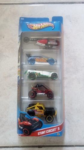Hot Wheels, Set De 5 Carros De Colección.