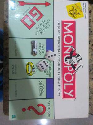 Juego De Mesa Monopoly Hasbro Original