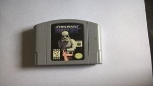 Juego De Nintendo 64-star Wars: Shadows Of The Empire-