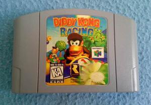 Nintendo 64 Diddy Kong Racing Excelentes Condiciones