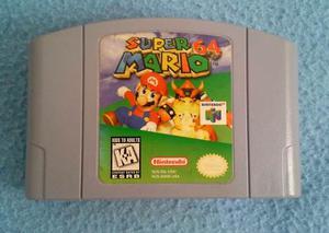 Nintendo 64 Super Mario 64 Excelentes Condiciones