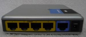 Router Cisco Linksys Wrt54gc