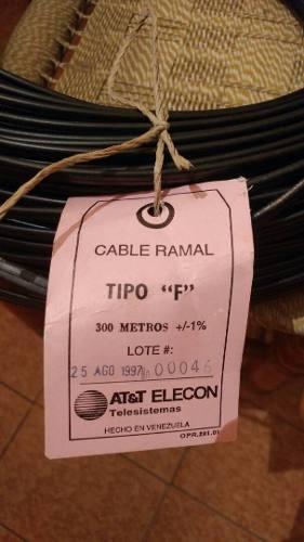 Cable Ramal Telefonico Tipo F