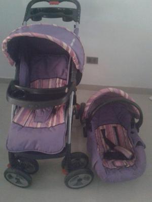 Coche Y Portabebe Marca Happy Baby