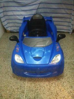 Carro Manejable Para Niños 1 Puesto Con Control
