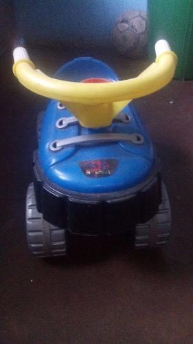 Carro Montable Para Niños De Spiderman
