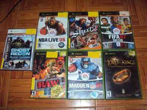 Juegos De Xbox Clásico Originales Usados
