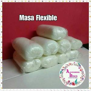 Masa Flexible 500 Grs (manualidades, Apliques, Zarcillos)