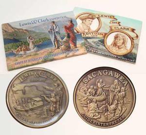 Moneda De Descubrimiento De Lewis-y-clark-sacagawea