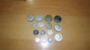 Monedas Americanas De Plata