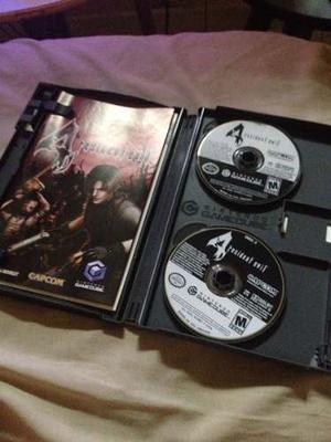 Resident Evil 4 Juego De Nintendo Gamecube
