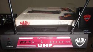 Sistema Inalambrico Wireless Guitarra O Bajo Marca Nady Uhf