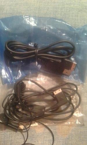 Cable Usb Y Audifonos para Samsung