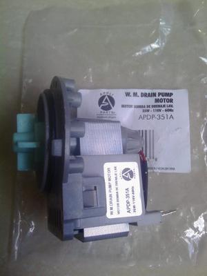 Cuerpo Motor Bomba De Agua Lavadora 35w Lg Samsung Mabe G.e