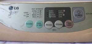 Panel Electrónico De Lavadora Lg De 6 Kilos