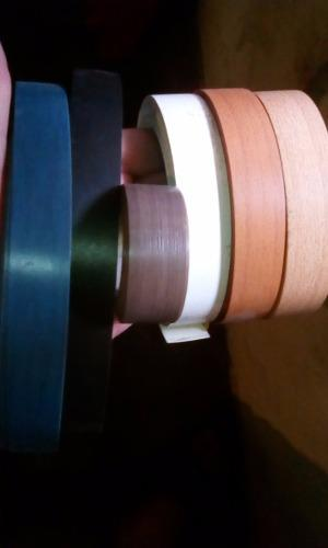 Tapa Canto Delgado Pvc / Varios Colores / 0.45 De 22mm