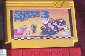 Cassette Super Mario 3.cintas De Nintendo Asiatico,chino Nes