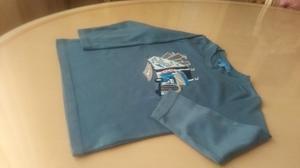 Franelas Y Camisa Varias Marcas Para Niños Talla 6 Y 8